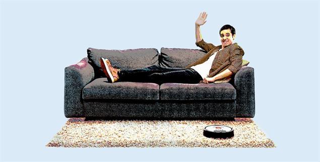 Meditative Übung: Unser Kolumnist schaut dafür einfach seinem Saugroboter zu(Foto: istockphoto/www.ljsphotographyonline.com)