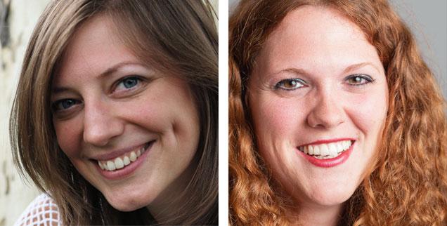 Geschlechtergerecht schreiben? »Ja!«, sagt Anne Strotmann (links). »Nein, nicht nötig!«, sagt Elisa Rheinheimer-Chabbi (rechts). (Fotos: privat)