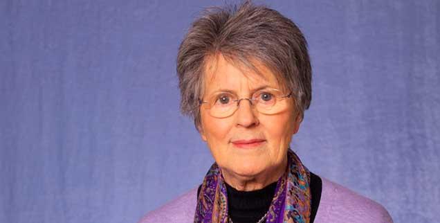Lea Ackermann, Gründerin und Leiterin des internationalen Hilfswerks Solwodi, wird am 2. Februar 80 Jahre alt (Foto: pa/Elsner)