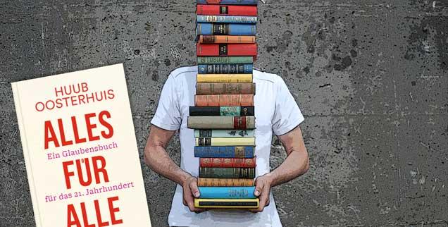 "Das Publik-Forum-Buch des Monats: ""Alles für alle"" von Huub Oosterhuis (Foto: luxuz:.photocase.de)"