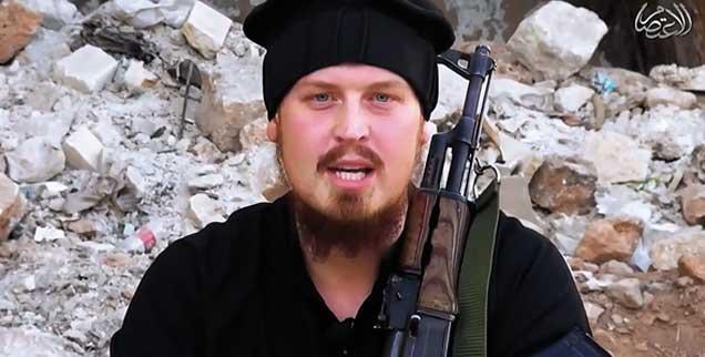 Hätten ihn Vertrauenspersonen von seinem verhängnisvollen Weg abgebracht? Philipp Bergner aus Dinslaken ermordete im Auftrag der Terror-Miliz »Islamischer Staat« zwanzig Menschen und tötete sich dabei selbst. (Foto: Screenshoot vimeo)