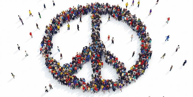 Welchen Weg nimmt die Friedensbewegung? (Foto: Federico Caputo/Alamy)