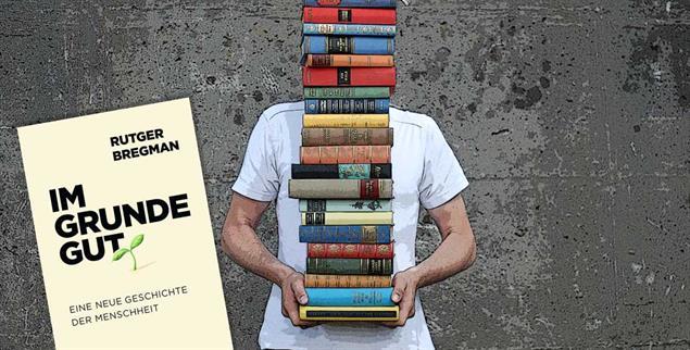 »Im Grunde gut« heißt das neue Buch von Rutger Bregmann. Buch des Monats bei Publik-Forum. (Foto: photocase)