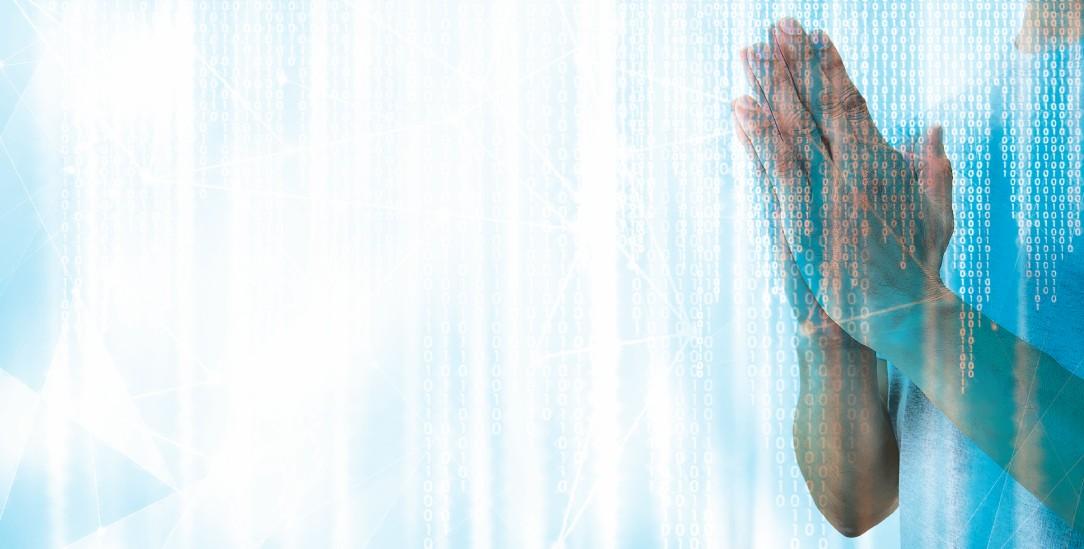 Algorithmen sollen den Menschen dienen, fordert der Vatikan in seinem Ethik-Kodex zu künstlicher Intelligenz. (Fotomontage: istock by getty/Kseniya_Milner; istock by Getty)