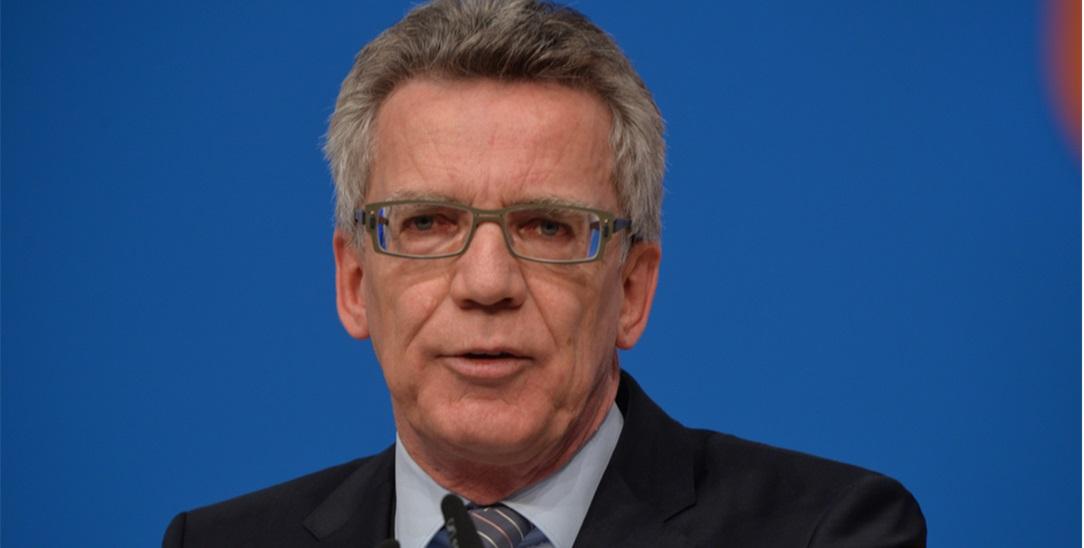 Thomas de Maiziére: Kritiker und Präsident des Kirchentages (Foto: Olaf Kosinsky/Skillshare.eu)