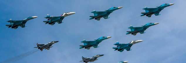 Russische Militärparade im 21. Jahrhundert: Die Zeit der Zweiteilung der Welt, für lange Zeit das 20. Jahrhundert bestimmend, ist vorbeit - jetzt herrscht multipolare Unordnung in der politischen Welt. (Foto: pa/Photoagency Interpress)