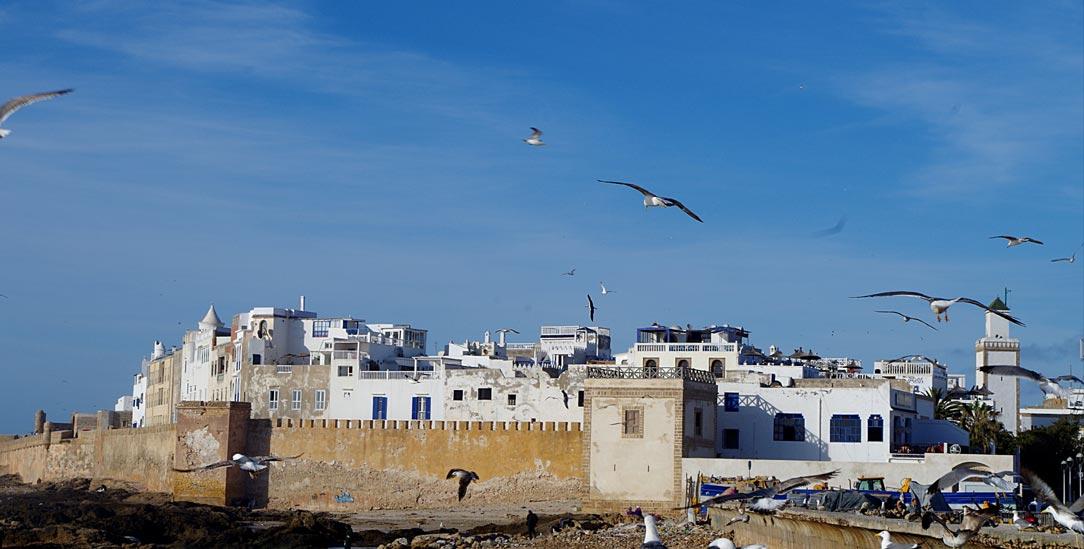 Essaouira: Die Stadt an der marokkanischen Atlantikküste wirbt mit ihrem jüdischen Erbe. (Foto: Claudia Mende)