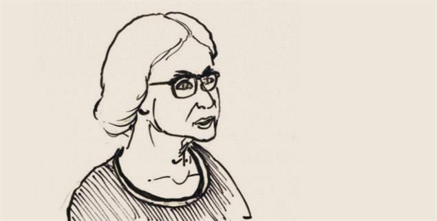 Christlich, radikal und rebellisch: Martha Hennessy (Zeichnung: Dan Burgevin)