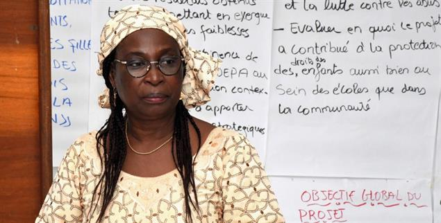 Kämpft für Frauen und beschützt sie: Marthe Wandou (Foto: rightlivelihood.org)