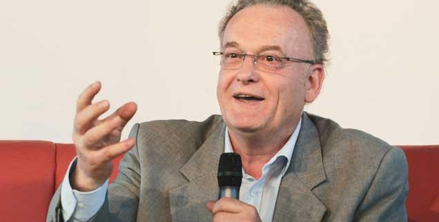 Friedrich Schorlemmer: Ein Mann, der, einst selbst DDR-Bürgerrechtler, um die Gefährdung des Bürgerrechtlers weiß. (Foto: epd/ Niemz)