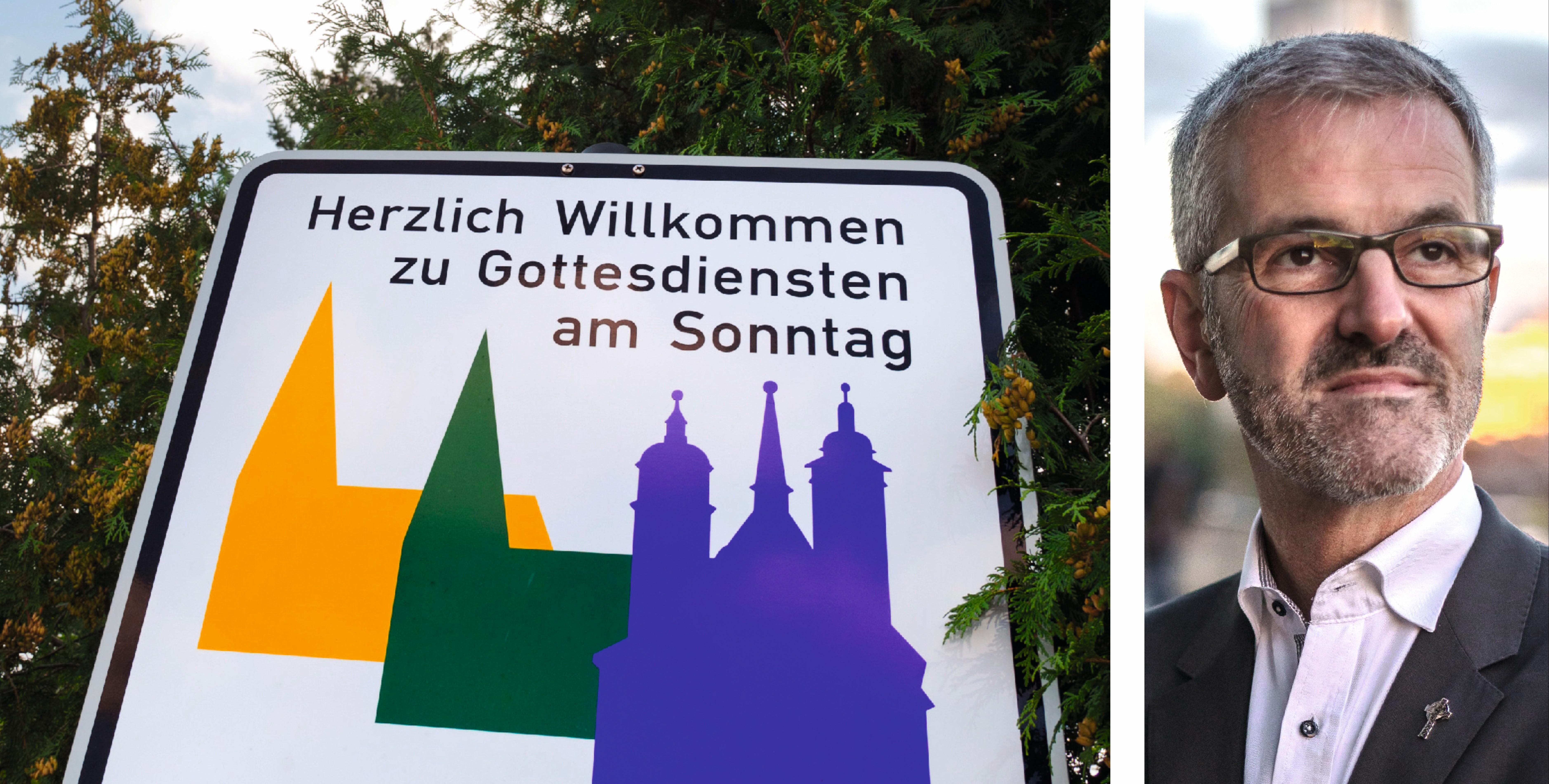 Sind Volkskirchen wünschenswert? Nein, meint der Priester Thomas Frings. (Fotos: epd/Neetz;Schoon)