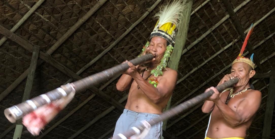 Angehörige des Volkes der Baniwa im Amazonasgebiet (Foto: Thomas Fischermann)
