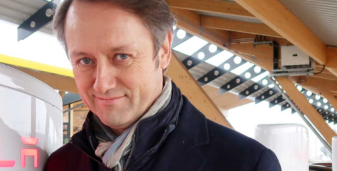 Umtriebiger Unternehmer mit großen Plänen: Roland Schüren aus Hilden (Foto: Steve Przybilla)