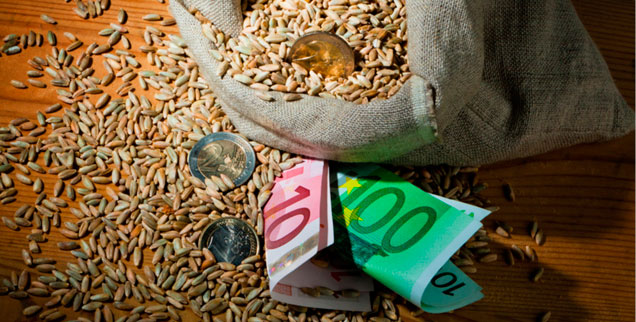 Die Preise für Nahrungsmittel werden weiter steigen, Spekulanten hoffen auf wachsende Gewinne  (Foto: © Gina Sanders - Fotolia.com)