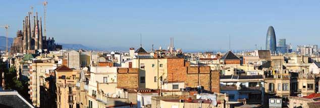 Barcelona wird seit vier Jahren von dem linken Wahlbündnis En Comú regiert. Das hat ein Wohnungsbauprogramm und die Förderung einer solidarischen Wirtschaft durchgesetzt (Foto: pa/Weber)