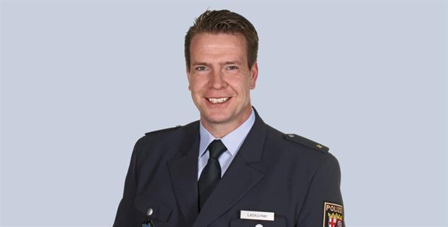 Thomas Lebkücher ist Polizeichef in Worms. (Foto: Pressestelle Polizeipräsidium Mainz)