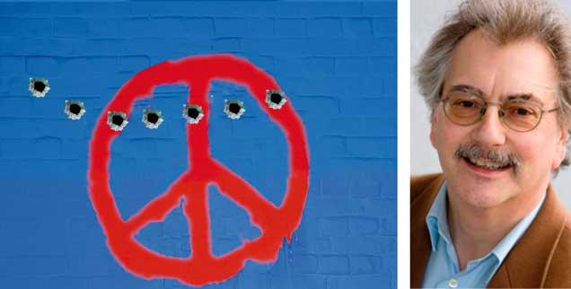 Unter Beschuss: Der Pazifismus wird zur Zeit von vielen Seiten verunglimpft - völlig zu Unrecht (Foto: bertys30/Fotolia.com)