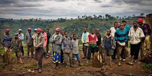 Zerstörtes Land in Kenia: Die Menschen, die hier leben (Foto), müssen die Folgen des Landraubs tragen. In den zurückliegenden 15 Jahren sind mehr als 100.000 Hektar Wald gerodet - und mehrheitlich ins Ausland verkauft - worden. (Foto: Corbis/O'Reilly)