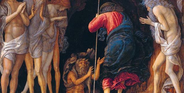 Andrea Mantegna: Abstieg in die Vorhölle (ca1470) (Foto: Wikimedia)