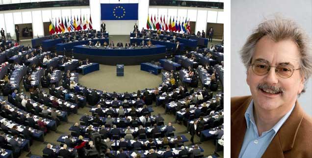 Mit 408 zu 254 Stimmen hat das EU-Parlament dem Freihandelsabkommen CETA zugestimmt und damit eigene Macht an die Konzerne abgetreten (Foto: pa/Cegarra/CITYPRESS24)