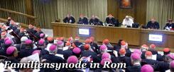 Rom im Oktober 2014: Papst Franziskus debattiert mit seinen Bischöfen über Liebe, Ehe und Sex. Kann das gutgehen? Und wohin wird es führen? Etwa  zu einer neuen Lehre der römischen Kirche? (Foto: pa/dpa/Fabio Frustaci)