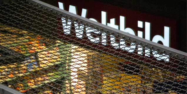 Gefangen im aggressiv geführten Wettkampf mit dem Konkurrenten Thalia? Der Weltbild-Konzern wird verkauft. (Foto: Rieger)