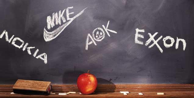 Konzerne im Klassenzimmer: Alles ganz normal? Oder taktische Unterwanderung des deutschen Bildungssystems? (Foto: pa/design pics/bruno crescia/mod.)