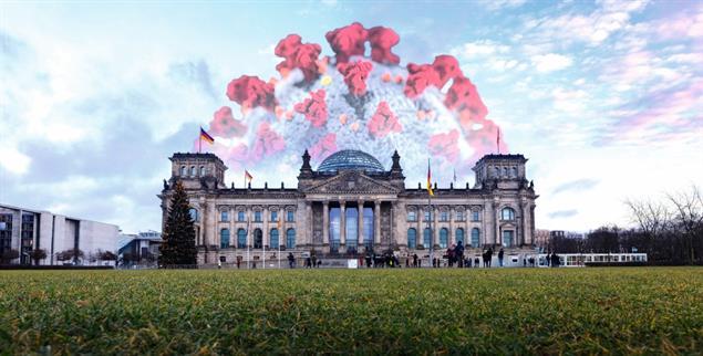 Deutscher Bundestag: Die Coronakrise verändert die Gesellschaft, sagt der Philosoph Rainer Forst. Lässt sich das auch auf die Klimadebatte übertragen? (Foto: pa/Geisler-Fotopress)