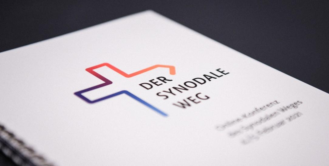 Wohin weist das Kreuz?:Das Logo des Synodalen Weges (Foto: KNA)