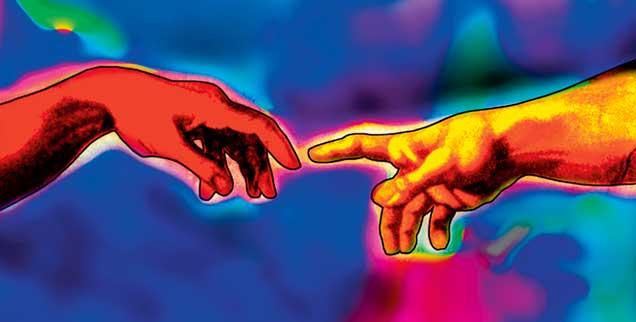 Das nackte Label »Gottesglaube« hat heute seine Aussagekraft verloren, zu vielfältig sind die Glaubensvorstellungen. Der katholische Theologe Andreas Benk erläutert in seinem Text, warum Theologen bisweilen zu Atheisten werden müssen. Der Artikel ist Teil der Publik-Forum-Serie zum Thema »Gott neu denken«  (Foto: pa/Maltz)