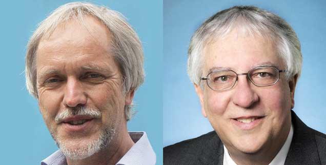 """Inklusion auch im Gymnasium? Dazu sagt Lutz Kunze (links): """"Ja!"""". Anderer Meinung ist Bernd Saur (rechts). (Fotos: Privat)"""