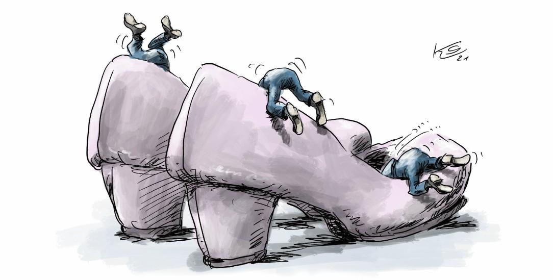 (Zeichnung: Klaus Stuttmann)