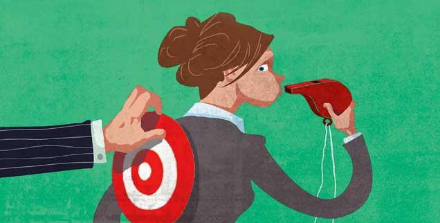 Wer Missstände öffentlich macht, geht ein hohes Risiko ein: Es fehlt ein gesetzlicher Schutz für Whistleblower (Foto: www.hum.wa.gov)
