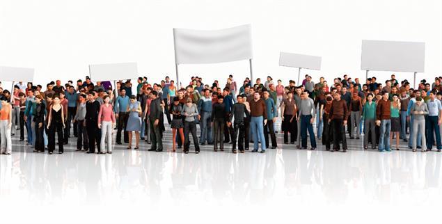 Demonstrationen, Petitionen, Volksabstimmungen: mehr Bürgerbeteiligung ist möglich (Foto: istockphoto/urfinguss)