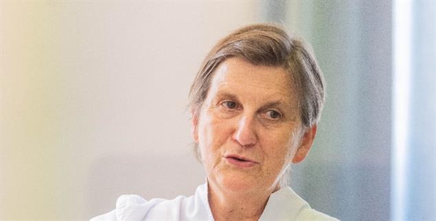Selbstbewusst auf dem Synodalen Weg: Claudia Lücking-Michel, Vizepräsidentin des Zentralkomitees der deutschen Katholiken (Foto: Meike Böschemeyer)