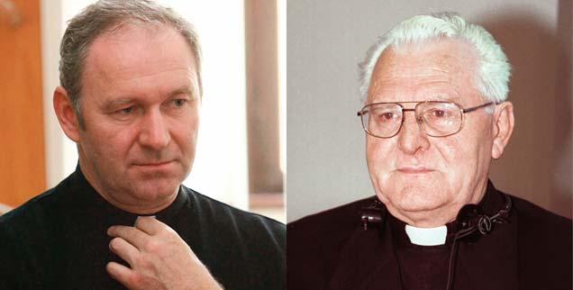 So unterschiedlich können Oberhirten sein: Der vom Papst geschasste, dialogische Erzbischof Robert Bezak (links) und Amtsvorgänger Jan Sokol, ein rechter Nationalist. (Fotos: Getty Images/SIFA; KNA)