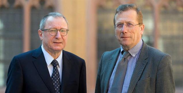 Staat ohne Gott?: Verfassungsrechtler Horst Dreier und Kirchenrechtler Thomas Schüller in Würzburg (Foto: Patty Varasano)