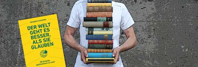 Negative Nachrichten vermarkten sich. Dem setzt der französische Psychologe Jacques Lecomte sein Werk »Der Welt geht es besser, als Sie glauben« entgegen. Norbert Copray empfiehlt es als Buch des Monats. (Foto: luxuz:.photocase.de)