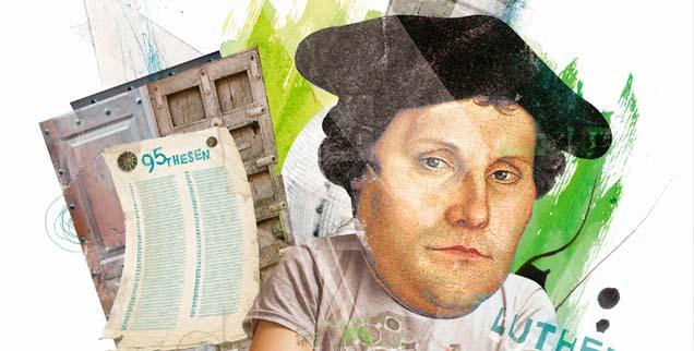 Was können wir von Luthers Person noch heute lernen? (Grafik: epd/Schebler)
