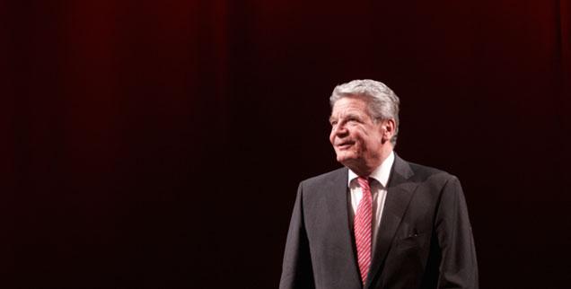 Große Erwartungen an Joachim Gauck: Erstmals soll ein Akteur der Friedlichen Revolution aus dem Osten Deutschlands  zum überparteilichen Bundespräsidenten gewählt werden (Foto: pa/Frey)