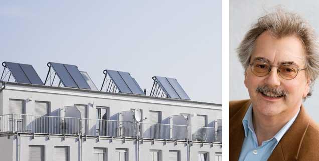Wer verändert die Welt? Der Einzelne oder die Politik? Die Energiewende in Deutschland begann jedenfalls erst so richtig mit einem Gesetz, nämlich dem über erneuerbare Energien. Damit wurde aus Nischenprodukten – wie Solardächern – ein Boom. (Foto: pa/Westend61/Wojciech)