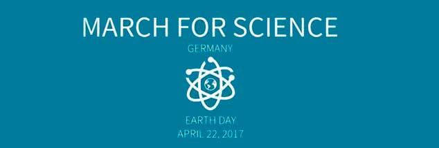 Das Logo der Kampagne: Die Idee für den »March for science« wurde in den USA geboren, am Samstag wird aber auch in vielen deutschen Städten demonstriert (Foto: marchforscience.de)