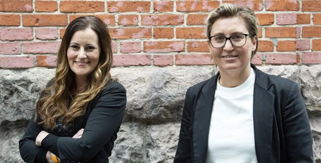 Die Neuen: Janine Wissler (l.) und Susanne Hennig-Wellsow sind seit Ende Februar Vorsitzende der Partei Die Linke. (Foto: pa/von Jutrczenka)