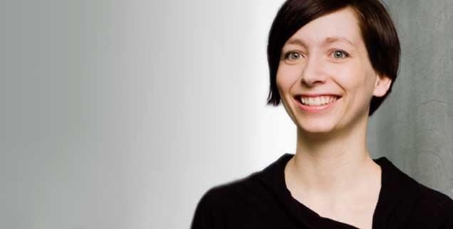 Anne Markwardt von foodwatch glaubt nicht, dass Ilse Aigners Konzept für den Ernährungs-Unterricht in den Schulen Sinn hat. (Foto: Foodwatch)