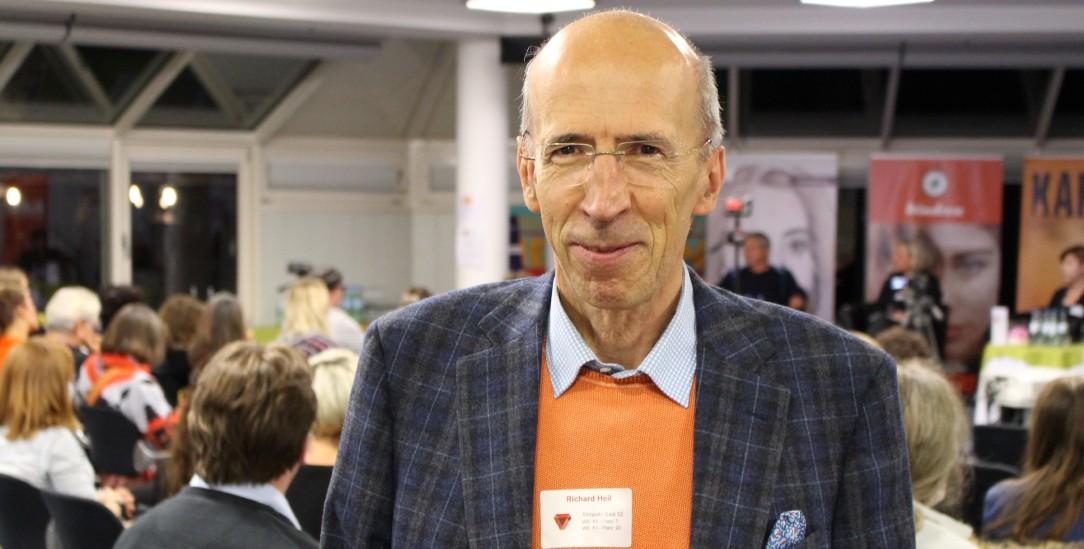 Richard Heil ist Facharzt für Allgemeinmedizin und Psychotherapie. Er lebt in Mannheim. (Foto: Stefan Baumgarth)