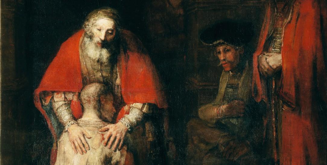 Ein Klassiker von Rembrandt: »Die Heimkehr des verlorenen Sohnes«, gemalt um 1668/69 (Foto: akg images)