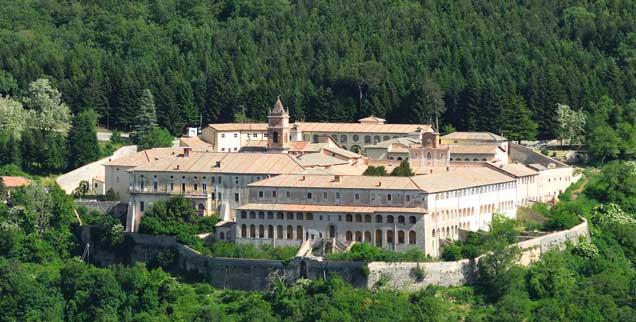 Die »Gladiatorenschule« in Italien: Das Kloster Trisulti baut Benjamin Harnwell zur Akademie um. (Foto: Adam Eastland / Alamy Stock Photo)
