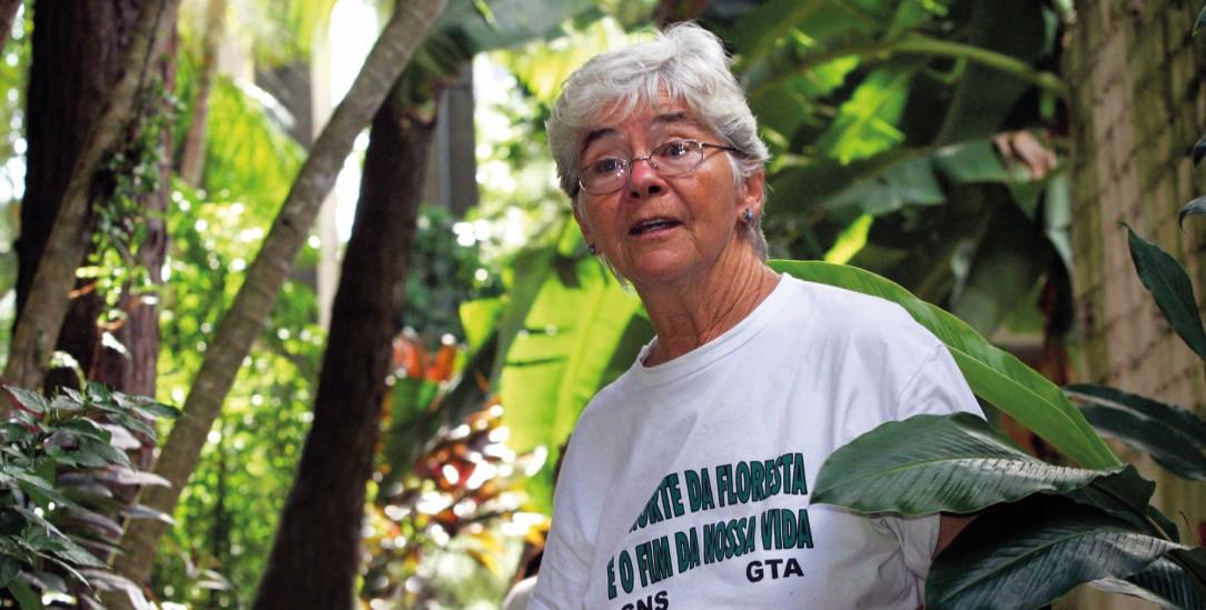 Eine Eulenart trägt jetzt ihren Namen: Die Missionarin und Märtyrerin Dorothy Stang (Foto: PA/AP/Carlos Silva)