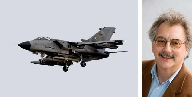 Ein Tornado des Aufklärungsgeschwaders 51 - bald unterwegs über Syrien? Deutsche Flugzeuge und bis zu 1200 deutsche Soldaten sollen gegen den IS zum Einsatz kommen. Konkret geht es um Unterstützung von Luftangriffen gegen den die Terrormiliz vor allem in Syrien und im Irak. (Fotos: pa/Rehder; privat)