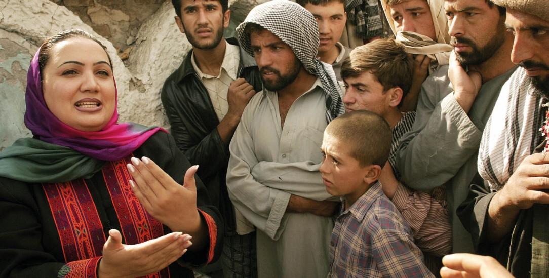 Einsatz für Demokratie und Frauenrechte: Shukria Barakzai (Foto: PA/AP Photo/Munita)